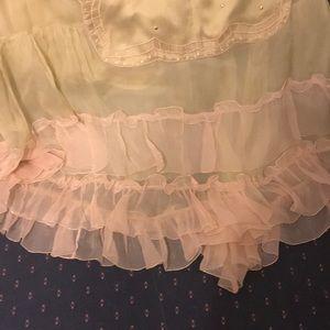 Nataya Skirts - Nataya NWT Fairy Angel Boho Ruffle Skirt M